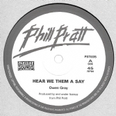 SALE ITEM - Owen Gray - Hear We Them A Say / version (Phil Pratt / Pressure Sounds) 10""